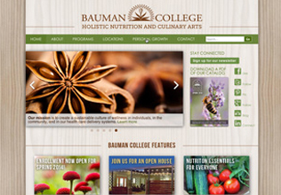 Bauman College Website